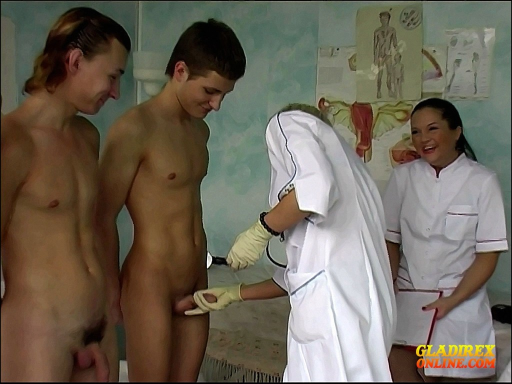 Naked men examined by doctors gay on our